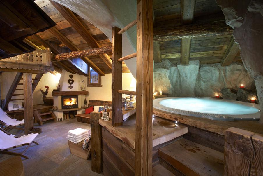 Relax e benessere a cogne in un attico chalet da favola benessere
