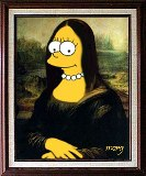 Monna Lisa Simpsons