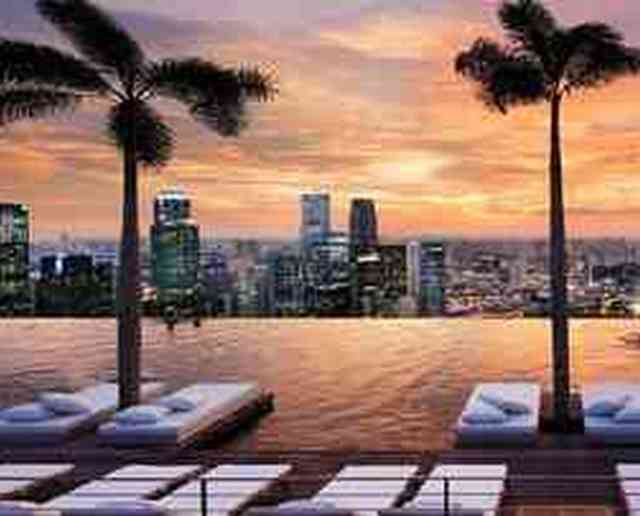 Il resort Marina Bay Sands di Singapore, un transatlantico a 200 metri d'altezza