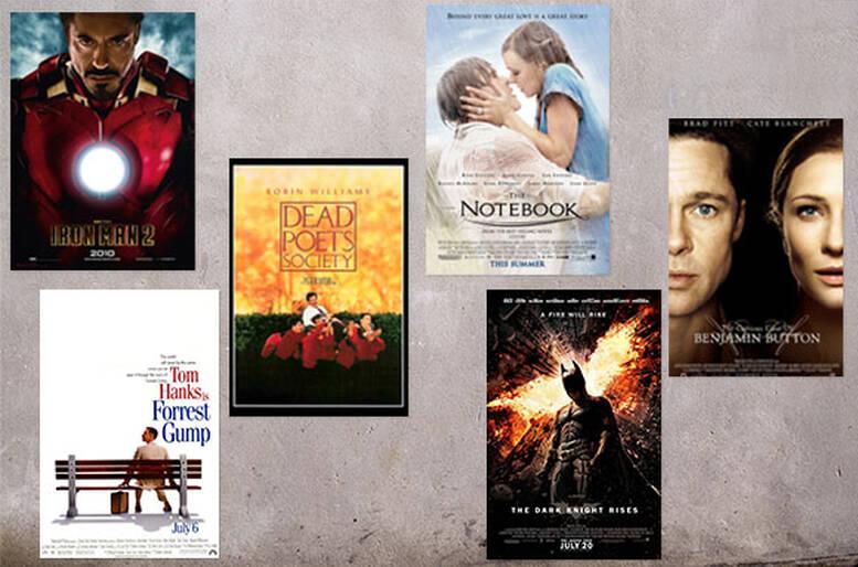 Estremamente Decora la parete con le locandine dei tuoi film preferiti | Casa QD18