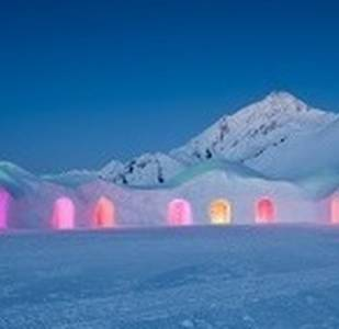 Una notte romantica in igloo per due