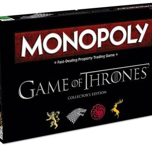 Monopoly Trono di Spade (Versione Game of Thrones in lingua inglese)