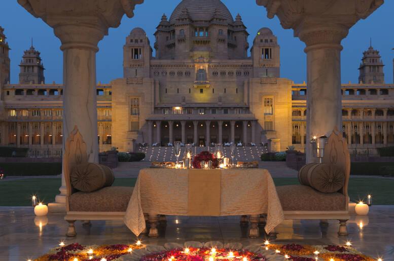Umaid bhawan palace l 39 hotel pi bello del mondo viaggi for L hotel piu bello del mondo