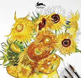 Vincent Van Gogh: Giant Artists' Colouring Books
