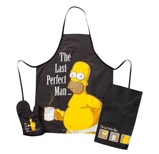 Grembiule per barbecue di Homer Simpson