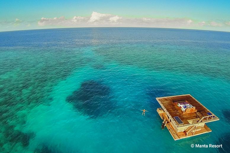 Il Manta Resort di Zanzibar: dormire sott'acqua tra flora e fauna marine